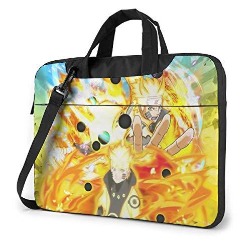 Protective Laptop Crossbody Messenger Bag, japanische Anime Six Paths Sage Mode Kurama Naruot Lehrertasche, Computer Sleeve Case