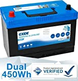 Exide 12V 95AH ER450 Deep Cycle Leisure Marine Battery Original Equipment Manufacturer