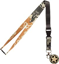Call of Duty WWII Video Game ID Lanyard Badge Holder with 2