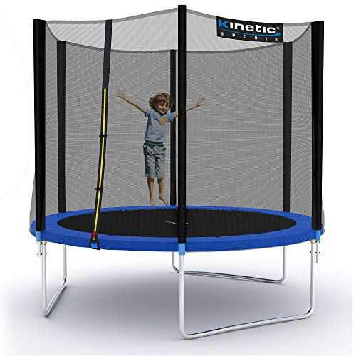 Kinetic Sports Gartentrampolin TPLH09 (Ø 275 cm, blau)