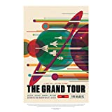 Wee Blue Coo NASA Space Exploration Travel Advert Grand