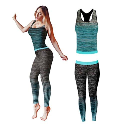 Bonjour® – Conjunto ropa yoga entrenamiento mujer