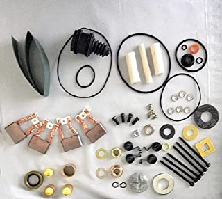 Repair Parts (Kit) for Starter Delco Remy Mt42 12v, 4 Brushes.