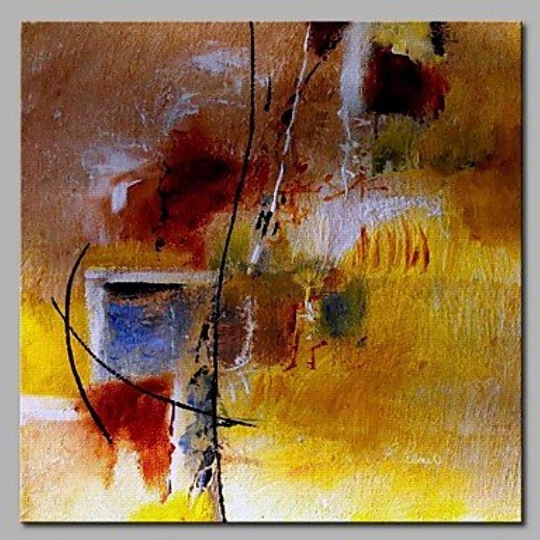 Ltq & Qing (NEU)-handgemalt abstrakte quadratisch, modernes Leinwand Öl Gemälde Home Dekoration One Panel, canvas, 28  x 28  B07CWN3JZH   Modern Und Elegant In Der Mode