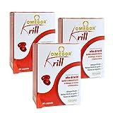 Omegor Krill - Suplemento de Aceite de Kril Superba con Omega-3,...