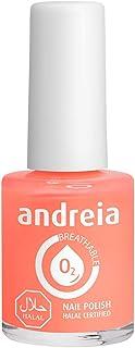 Andreia Halal Esmalte de Uñas Transpirable - Permeable Al Agua - Color B5 Rosa - Sombras de Roja   105 ml