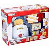 Eddy Toys 10tlg. Frühstücksspielset Toaster, Butter, Toast, Honig, Kinderküche, Haushaltsgerät, Küchengerät