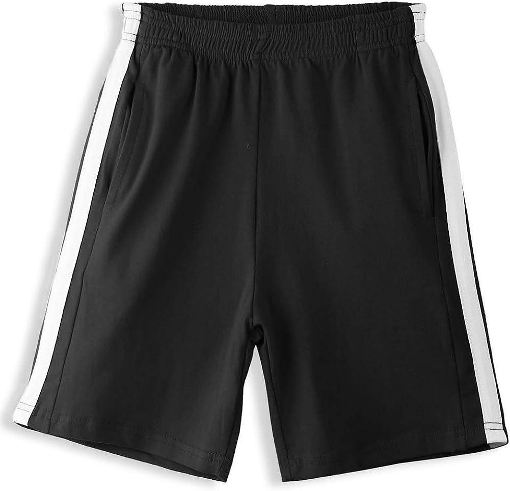 Arshiner Boys Shorts Active Shorts Sports Athletic Gym Summer Shorts for 5-12 Years