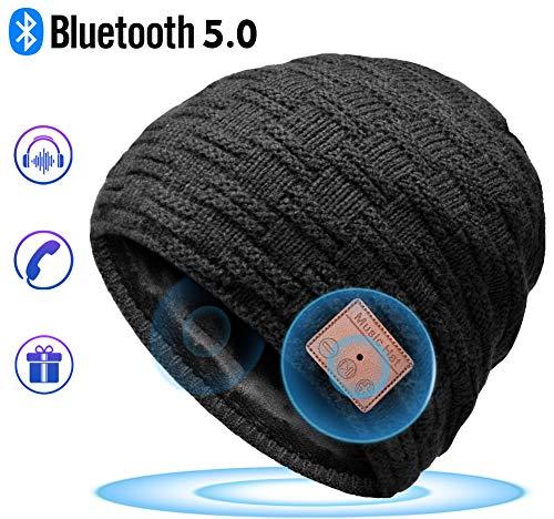 HANPURE Bluetooth Gorro Invierno Hombre Regalos Originales - Gorro con