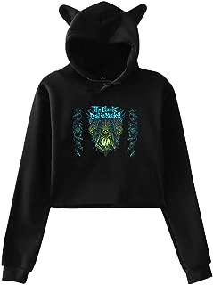 The Black Dahlia Murder Women Cat Ear Hoodie Sweater Comfortable Long Sleeve Tee Shirt