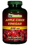 Apple Cider Vinegar 250 Mg. - 240 Capsules review