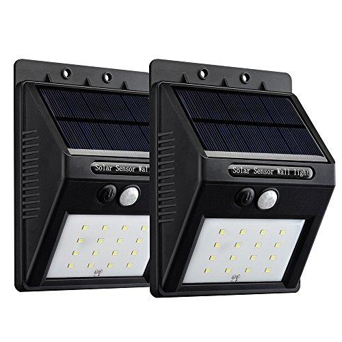 VicTsing 16 LEDs Luz Solar con Sensor de...
