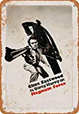 Metallschild im Vintage-Look, 1973 Dirty Harry Magnum Force