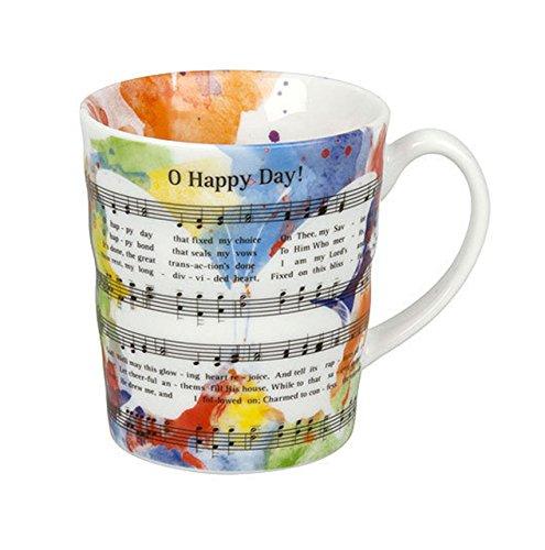 mugesh Tasse Oh Happy Day! - Schönes Geschenk für Musiker