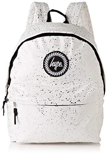 hype Flakes, Zaino Unisex Adulto, Multicolore (White/Pink), 30x41x15 cm (W x H x L)