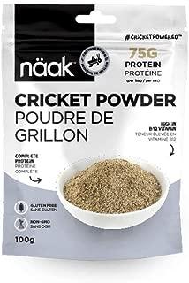 Näak Cricket Protein Powder - 100% Cricket Flour (Complete Protein)