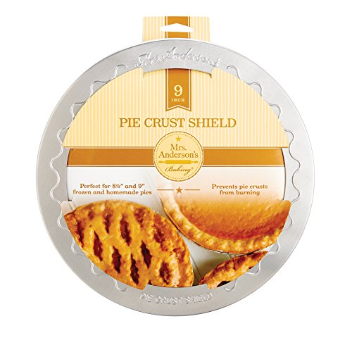 Mrs. Anderson's Baking Pie Crust Protector Shield, Fits 9-Inch Pie Plates