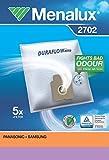 Menalux 2702 - Pack de 5 bolsas sintéticas y 1 filtro para aspiradoras...