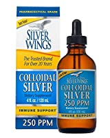 Natural Path Silver Wings, Colloidal Silver, 250 ppm, 4 fl oz (120 ml)