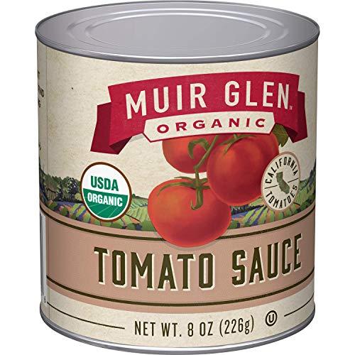 Muir Glen Organic Tomato Sauce, 8 oz (Pack of 24)