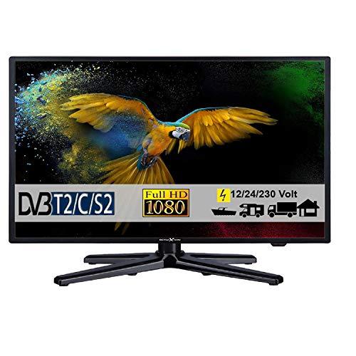 Reflexion LEDW24N, LED Fernseher 24 Zoll 60 cm, DVB-S /S2, DVB-T /T2, DVB-C, USB, 230V + 12 Volt und 24 Volt