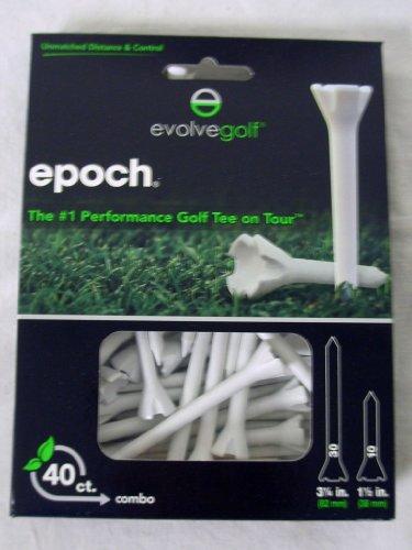 Evolve Golf Epoch 40 Pack Tees 30@ 3 1/4 10@ 1 1/2