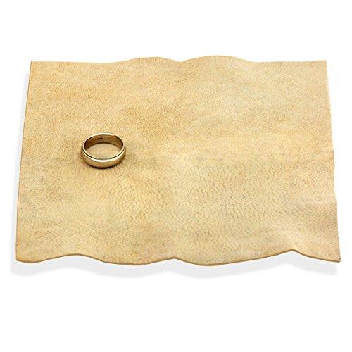 "Jeweler's Sheepskin Chamois Polishing Cloth - 12"" x 12"""