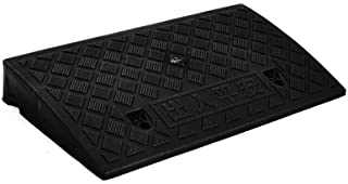 Multifunction Car Uphill Pad, Color Plastic Step Mat Non-Slip Portable Motorcycle Ramps Hospital Wheelchair Ramps 7-