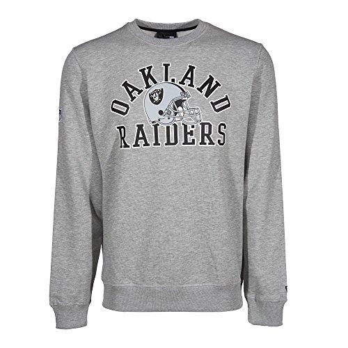 New Era NFL Oakland Raiders College Crew Sweatshirt, Größe:S
