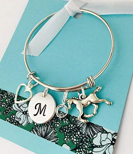 Horse Bracelet Personalized Silver Custom Over item handling New Shipping Free Bangle Jewelry