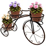 Sorbus Tricycle Plant Stand - Flower Pot Cart Holder - Ideal for Home,...