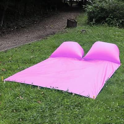 PLOK Cojín de aire impermeable Picnic Mat al aire libre con almohada portátil almohadilla de humedad con Ding Beach Grass Mat al aire libre Mat