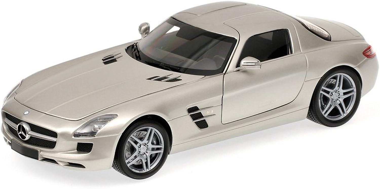 Mercedes SLS AMG 2010 - Silver 1 18