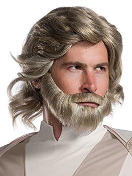 Rubie s Star Wars Episode VIII  The Last Jedi Men s Luke Skywalker Costume Accessory Kit NA One Size