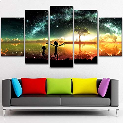 Print Poster Wall Art Mack Truck Canvas Pictures Abstract Landscape Painting Home Background Living Room Decoration + Print Poster Wall Art Cool Truck Canvas Picture Abstract Landscape Home Hi