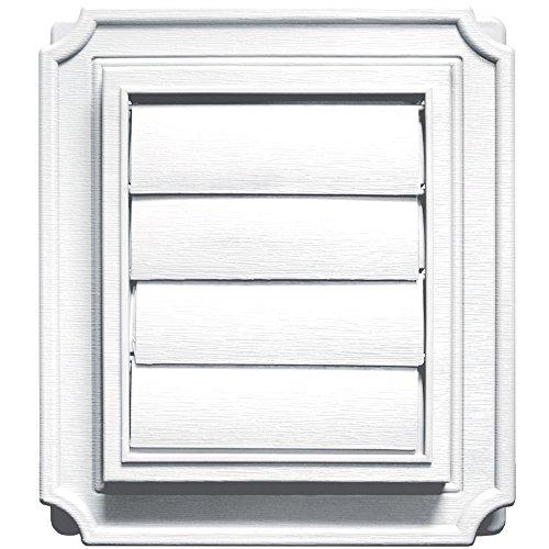 Builders Edge 140137079001 Vent, 1, White
