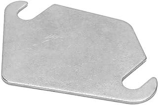 Duokon AGR Blanking Plate, brandneue Präzisionsfertigung Edelstahl AGR Dichtung EGR Blanking Dichtung EGR Block Off(Without Hole)