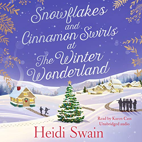 Snowflakes and Cinnamon Swirls at the Winter Wonderland audiobook cover art