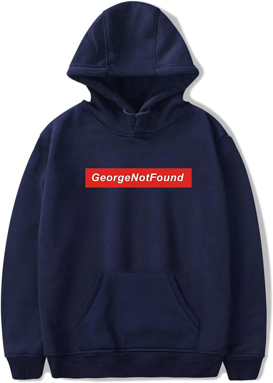 CNSTORE George Not Found Merch Hoodie Sweatshirt Men/Women Outdoor Hip-Hop Style Plus Size XXS-4XL