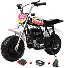 X-PRO 40cc Kids Mini Dirt Bike Mini Pit Bike Dirt Bikes Motorcycle Gas Power Bike Off Road (Pink)