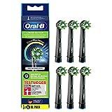 Oral-B CrossAction Black Edition - Juego de 6 cabezales de...