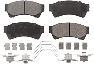 Front Ceramic Brake Pad Set TEC-1084