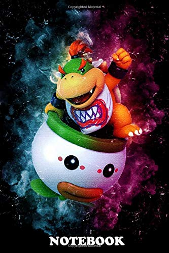 Notebook: Bowser Jr Is A Video Game Character That Appears In Th , Journal for Writing, College Ruled Size 6' x 9', 110 Pages