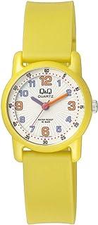 Q&Q Girls White Dial Silicone Band Watch