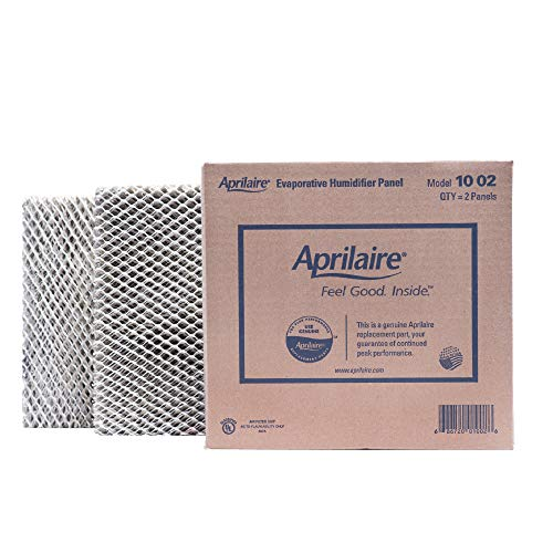 Aprilaire - 10 A2 10 Replacement Water Panel for Whole House Humidifier Models 110, 220, 500, 500A, 500M, 550, 550A, 558 (Pack of 2) Aluminum