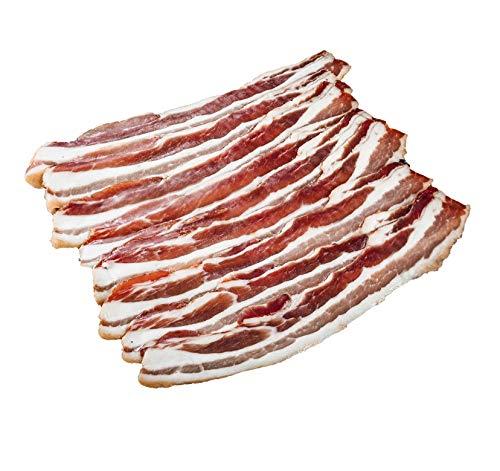 Bacon gesmoked | dünn geschnitten | Deutsches Landschwein | 180g | Handwerksqualität von Metzgerei DER LUDWIG
