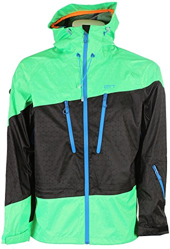 2117 of Sweden Herren Skijacke Vidsel 7514929 green - 48