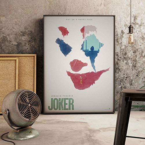 IHlXH JokerJoaquin Phoenix Heath Hauptbuch Film Comics RaumWandkunstGemälde Druck auf Leinwand Poster Bilder Wohnkultur 3 55 x 80 cm Kein Rahmen