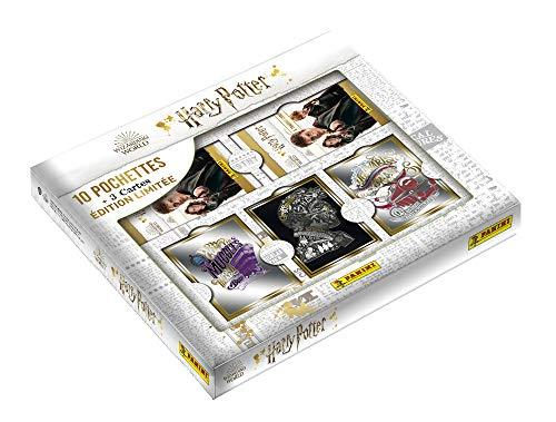 Panini France SA-Harry Potter Saga TC Coffret 3D (10 Pochettes + 3 Cartes lenticulaires), 004220MCOUF