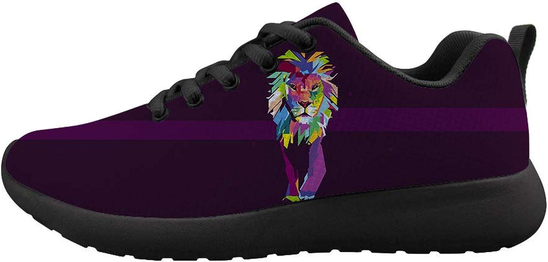 Owaheson Cushioning Sneaker Trail Running shoes Mens Womens Advancing Viggoldus colorful Lion